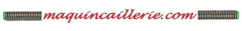 Logo tige filetée inox sur maquincaillerie.com