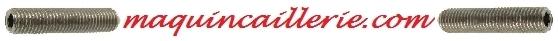 Logo des vis sans tête à pointeaux en inox