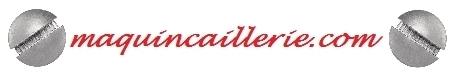 Logo de vis métaux tête fraisée bombée inox A4