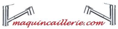 Mitigeur évier modèle Cactus et logo
