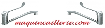 Mitigeurs Edinburgh et logo maquincaillerie