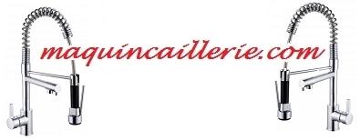 Mitigeurs évier Stoli et logo maquincaillerie.com