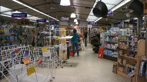 La quincaillerie du belzic, le magasin