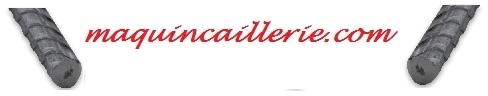 Rond béton torsadé et logo maquincaillerie.com