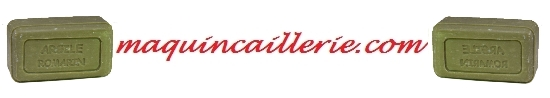 savons argile romarin logo maquincaillerie