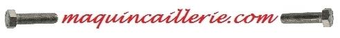 Logo maquincaillerie avec boulon inox th